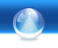 De bol van de sneeuw Royalty-vrije Stock Foto's