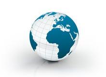De bol van de wereld Royalty-vrije Stock Foto