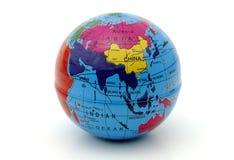 De Bol van de wereld Stock Afbeeldingen