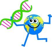De bol van DNA Royalty-vrije Stock Fotografie