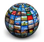 De bol van het beeld Royalty-vrije Stock Foto's