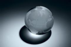 De bol van het glas Stock Foto