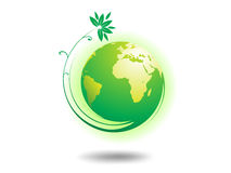 De Bol van het milieu royalty-vrije stock afbeelding