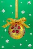 De bol van Kerstmis. Stock Foto's