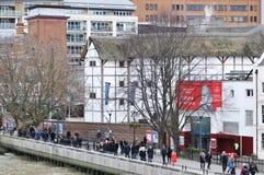 De Bol van Shakespeare, Londen Stock Afbeeldingen