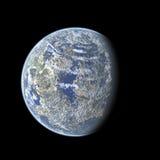 De bolillustratie van de aarde Stock Foto's