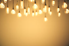 De bollen oranje achtergrond van het ideeconcept Royalty-vrije Stock Foto