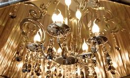 De bollen van het de vlamwolfram van de kaars Stock Foto