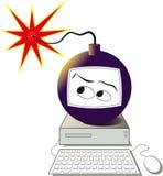 De bom van de computer Stock Fotografie