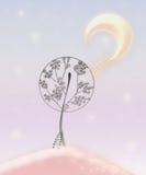 De bomen van de fee royalty-vrije stock foto