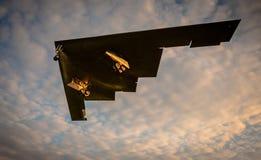 De bommenwerper van de heimelijkheidsvechter Stock Foto's