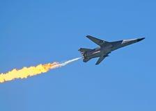 De Bommenwerper van de luchtspiegeling F 111 Royalty-vrije Stock Foto