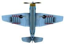 De bommenwerper van de torpedo vector illustratie