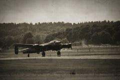 De Bommenwerper van Lancaster Stock Foto