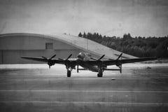 De Bommenwerper van Lancaster Stock Afbeeldingen