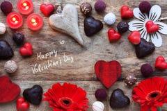 De bonbon toujours la vie pour le jour heureux de Valentins Images libres de droits