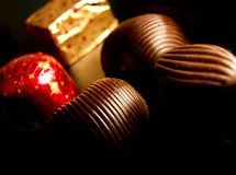 De bonbons van de chocolade Royalty-vrije Stock Afbeelding
