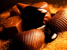 De bonbons van de chocolade Royalty-vrije Stock Foto