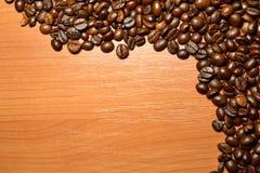 De bonen van Coffe stock afbeelding