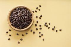 De bonen van Coffe Royalty-vrije Stock Afbeelding