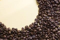 De bonen van Coffe Royalty-vrije Stock Afbeeldingen