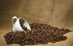 Coffebonen Royalty-vrije Stock Foto