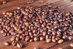 De bonen van de aromakoffie Royalty-vrije Stock Afbeeldingen