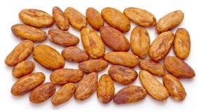 De bonen van de cacao. Royalty-vrije Stock Fotografie