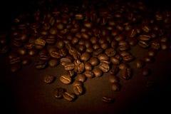 De bonen van de koffie Stock Foto