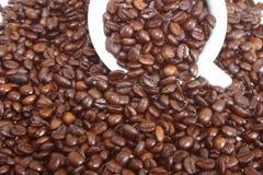 De bonen van de koffie Stock Fotografie