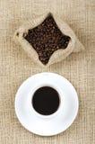 De bonen van de koffie. Stock Fotografie