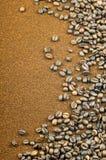De bonen van de koffie. Royalty-vrije Stock Afbeeldingen