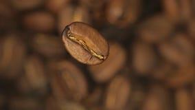 De bonen van de koffie stock videobeelden