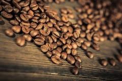 De bonen van de koffie Stock Afbeelding