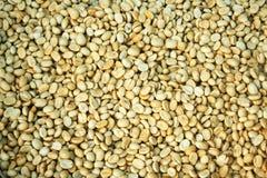 De bonen van de koffie voor achtergrond Stock Foto