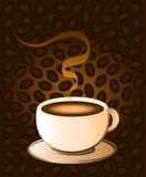 De Bonen van de koffiekop vector illustratie