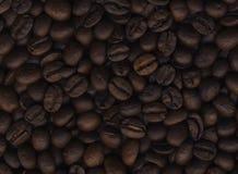 De bonenachtergrond van de koffie Royalty-vrije Stock Afbeelding