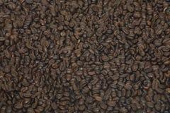 De bonenachtergrond van de koffie Royalty-vrije Stock Afbeeldingen