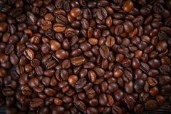 De bonenachtergrond van de koffie Stock Fotografie