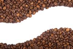 De bonenframe van de koffie Stock Foto's