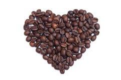 De bonenhart van de koffie   Royalty-vrije Stock Foto's