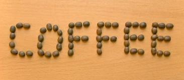 De bonentextuur van de koffie Stock Afbeelding