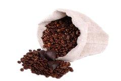 De bonenzak van de koffie Royalty-vrije Stock Foto