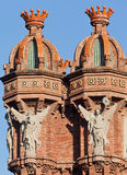 De boog DE Trionf Barcelona Spanje Royalty-vrije Stock Foto