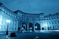 De Boog Londen van admiraliteit stock foto