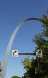 De Boog St.Louis van de gateway, Stock Afbeeldingen