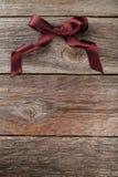 De boog van Bourgondië op houten achtergrond Stock Fotografie