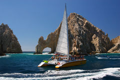 De Boog van Cabo San Lucas Stock Afbeeldingen