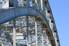 De boog van de brug royalty-vrije stock foto's