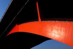 De boog van de brug Stock Foto